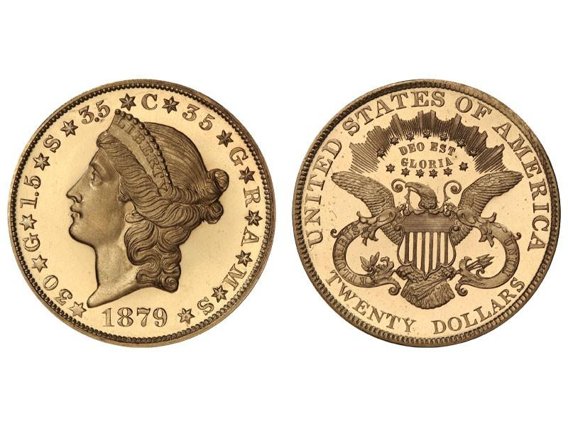 1879 Double Eagle Proof