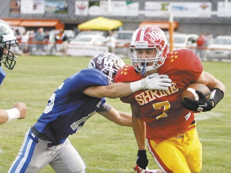 Maine all-time leading receiver Chandler Shostak