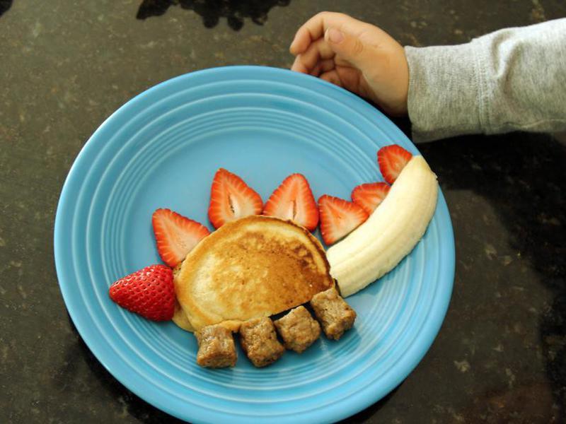 stegosaurus pancakes