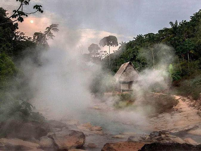 Shanay-Timpishka, the Boiling River of the Amazon