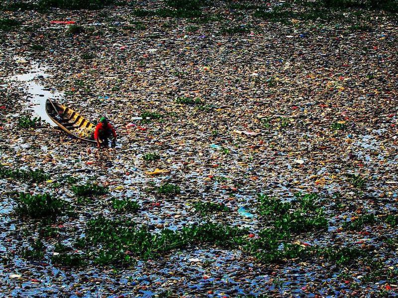 Citarum River in Indonesia
