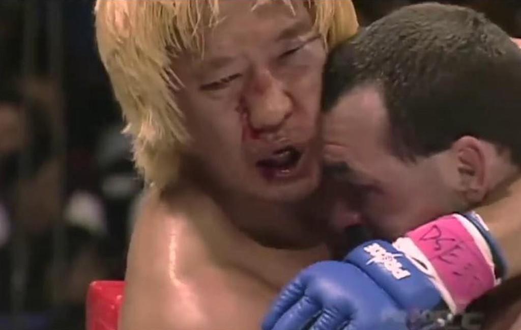 Yoshihiro Takayama and Don Frye