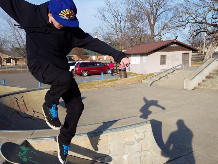 Russellville Skate Park in Russellville, Arkansas