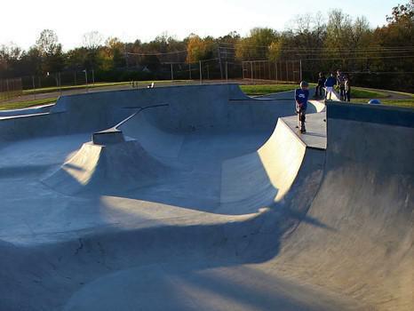 Woodland Skate Park in Lexington, Kentucky