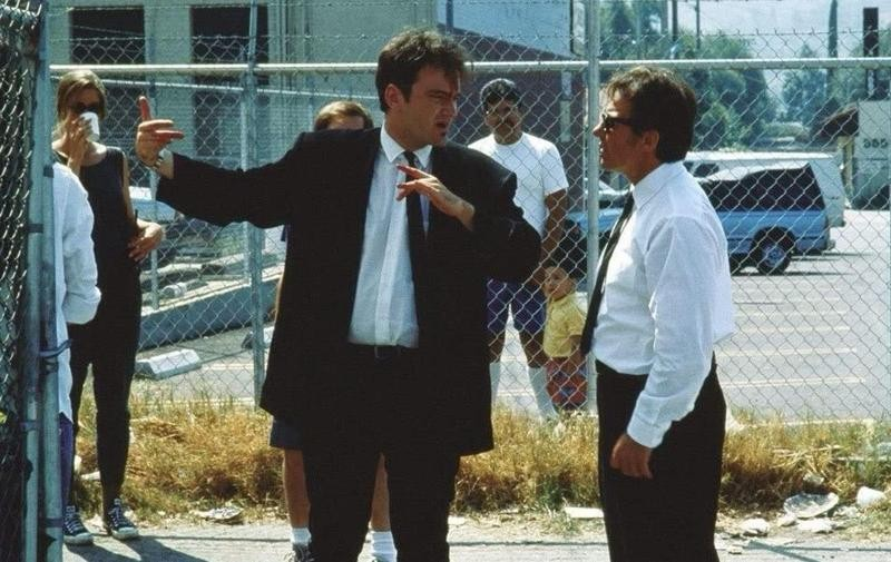 Behind the scenes of Reservoir Dogs