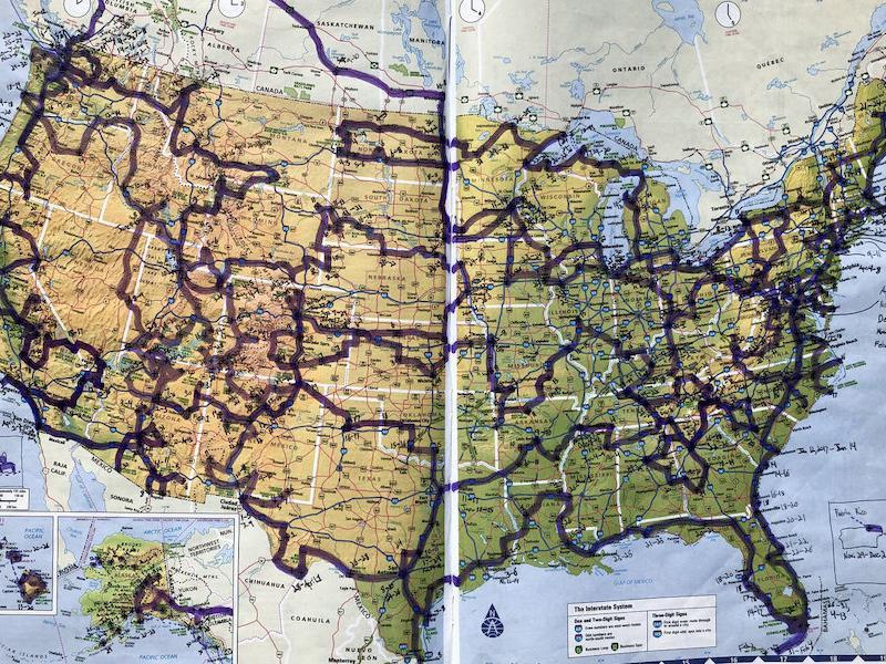 Mikah's Map