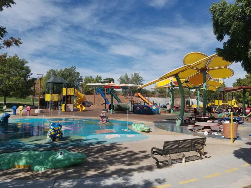 Centennial Hills splash pad park