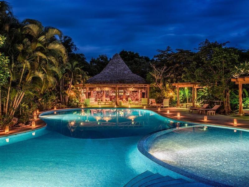 Luxury eco resort in Costa Rica