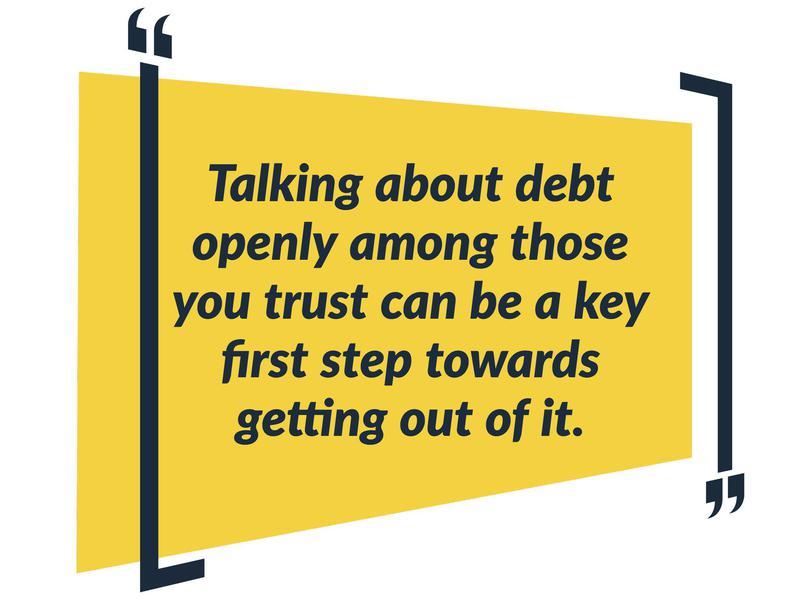 debt not alone