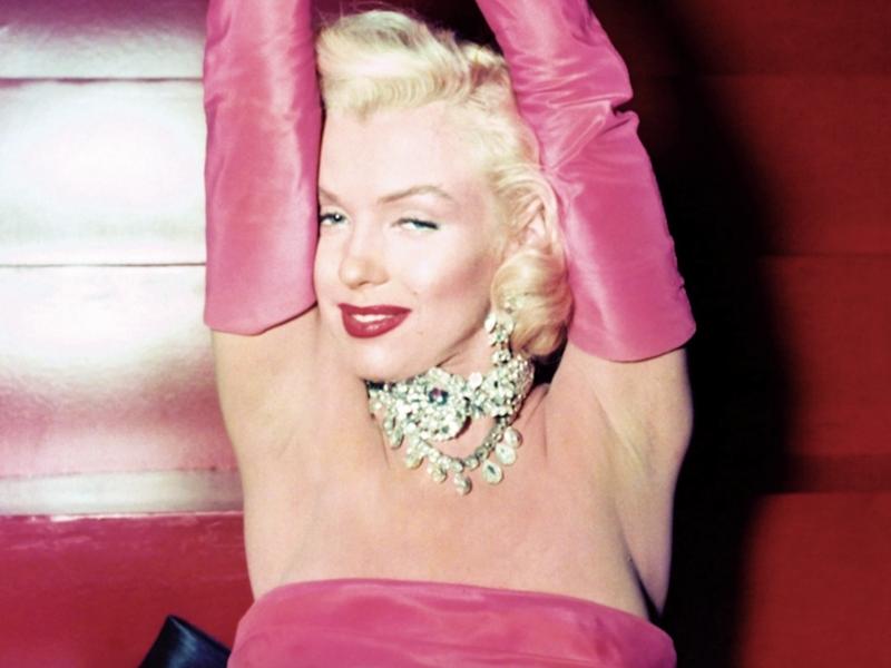 Marilyn Monore in 'Gentlemen Prefer Blondes'