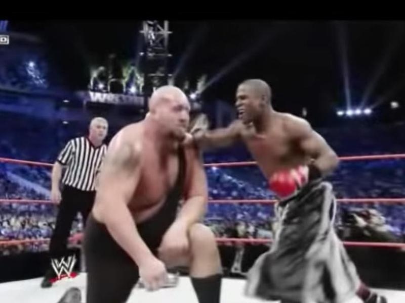 Big Show and Floyd Mayweather
