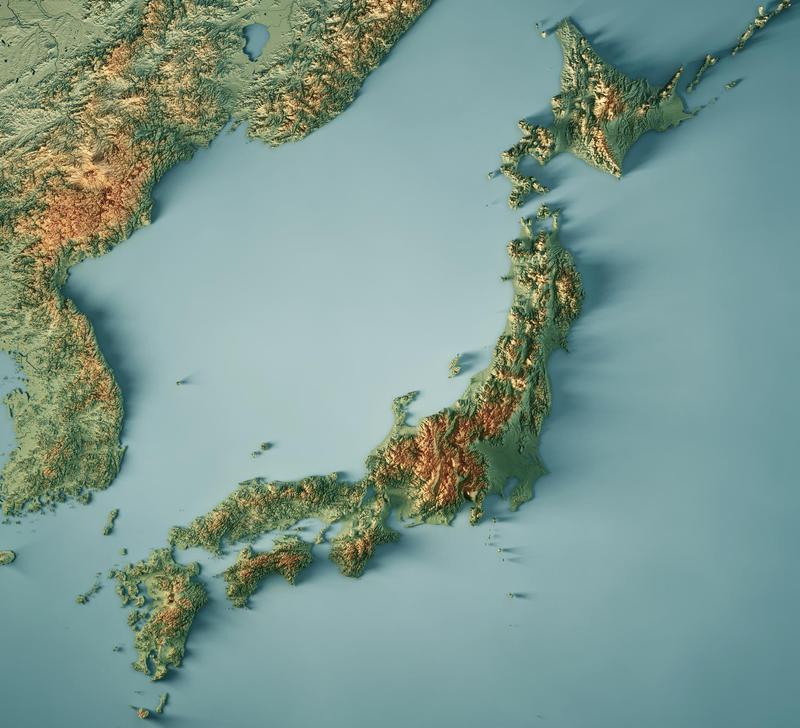 japan islands