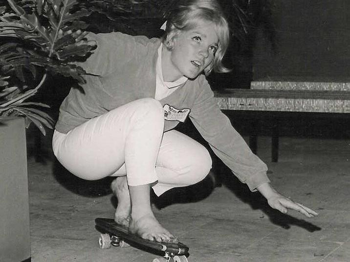 Patti McGee skating