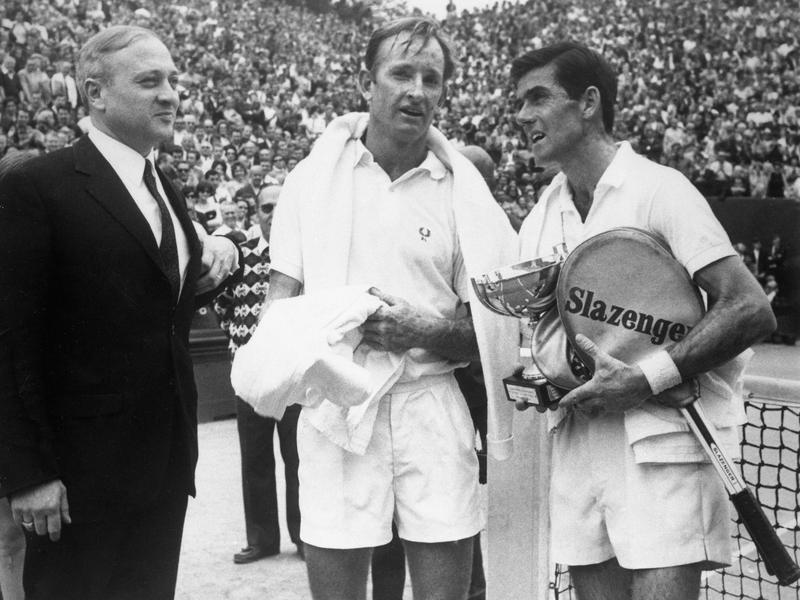 Rod Laver and Ken Rosewall