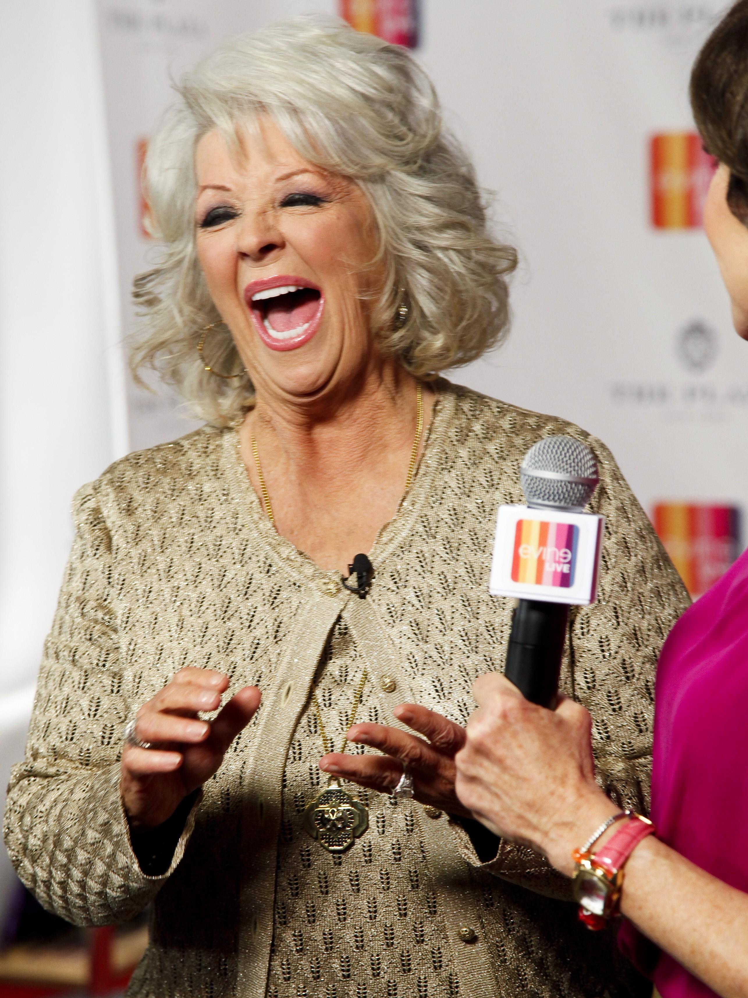 Paula Deen laughing