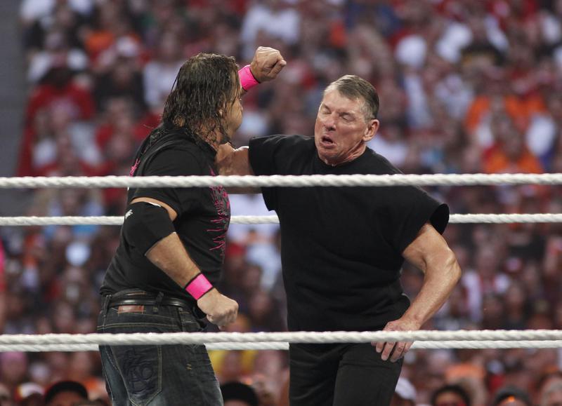 Bret Hart vs. Vince McMahon at WrestleMania XXVI