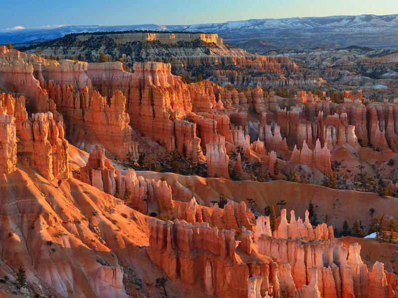 Amphitheater in Bryce Canyon National Park, Utah