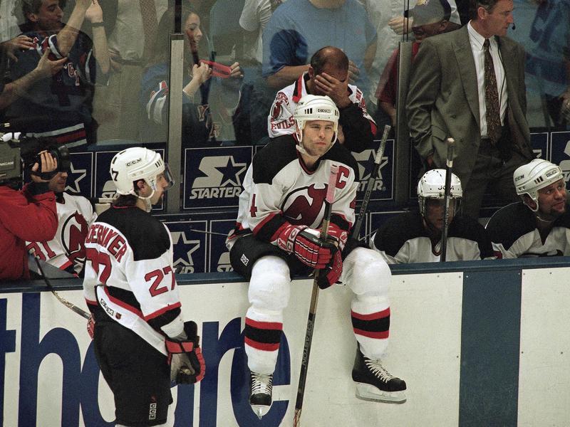 New Jersey Devils defenseman Scott Stevens