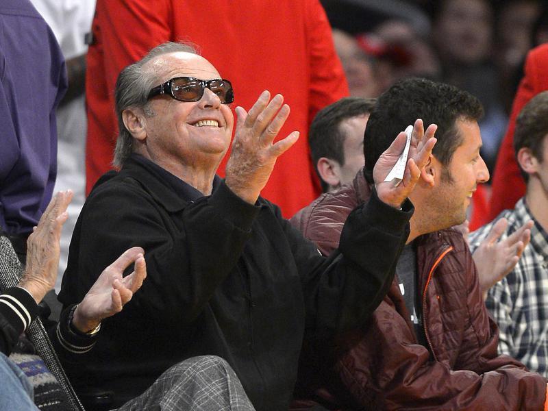 Jack Nicholson is a Laker fan