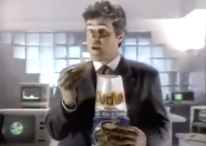 Doritos Cool Ranch commercial with Jay Lenon in 1989
