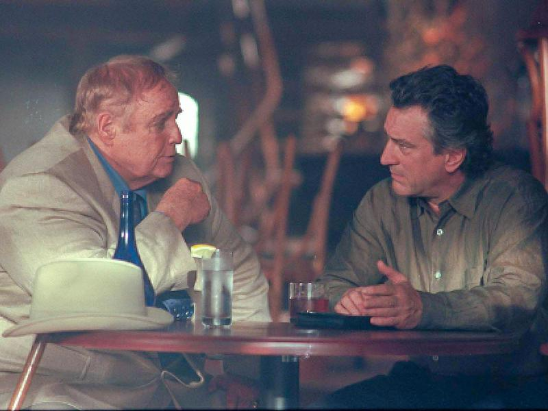 Marlon Brando and Robert De Niro in The Score (2001)