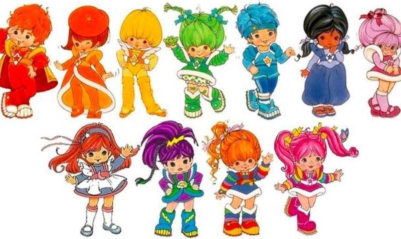 Rainbow Brite characters
