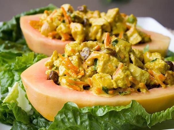 Curried Chicken Papaya