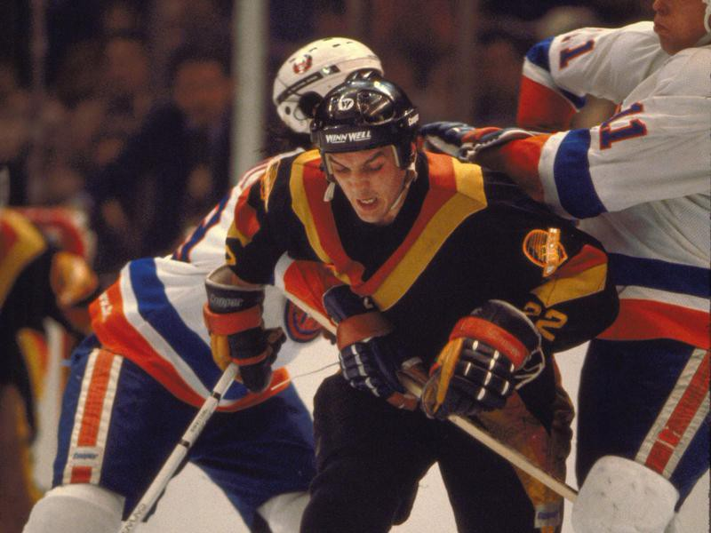 Vancouver Canuck Tiger Williams
