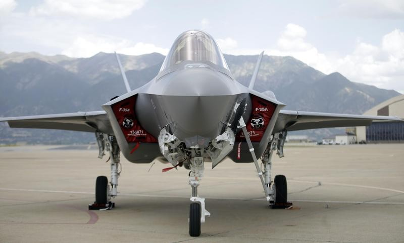 Lockheed Martin fighter jet