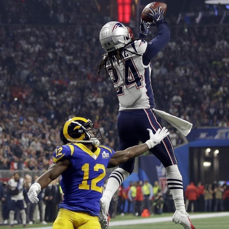Stephon Gilmore interception in Super Bowl LIII