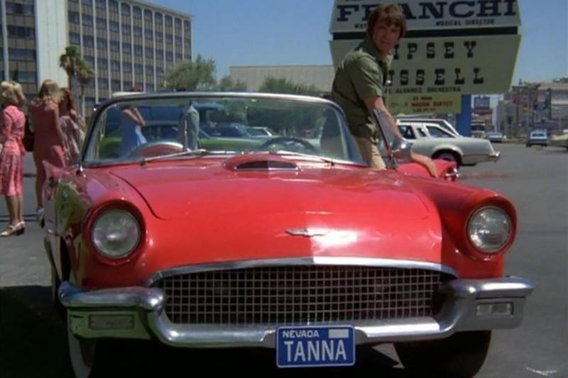 15. 1957 Ford Thunderbird