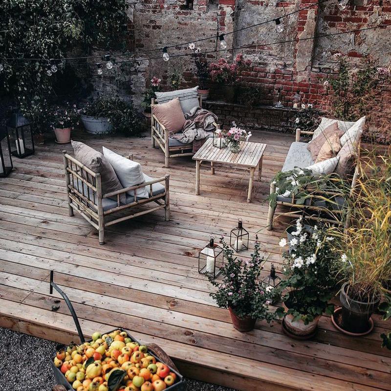 define your outdoor space