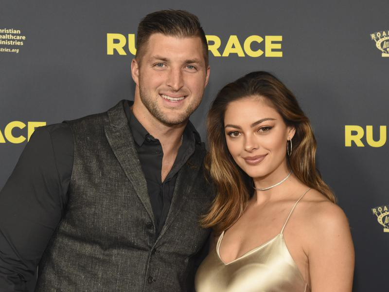 Demi-Leigh Nel-Peters and Tim Tebow