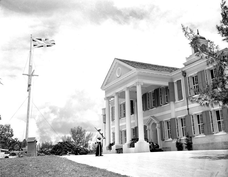 Government House in the Bahamas in 1940