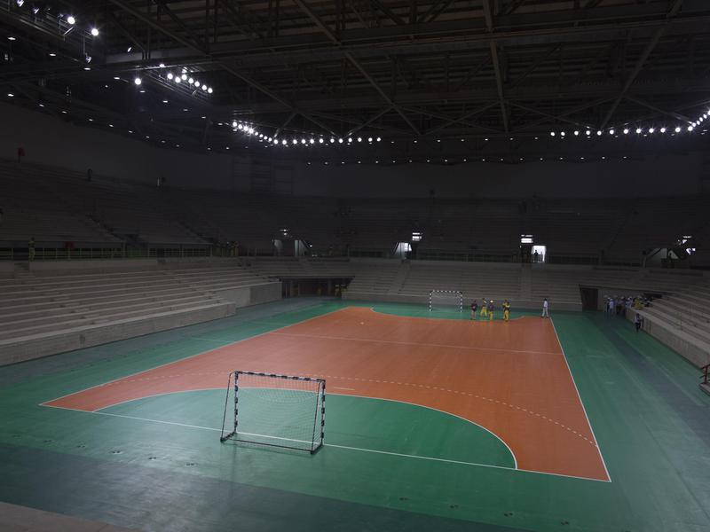 Olympic handball court