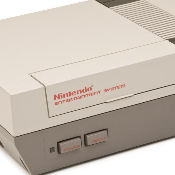 """""""Medina, Ohio, USA - February 7, 2011: An original vintage Nintendo Entertainment System, released in 1984. The 8-bit NES was Nintendo\'s first cartridge-based console home system."""""""