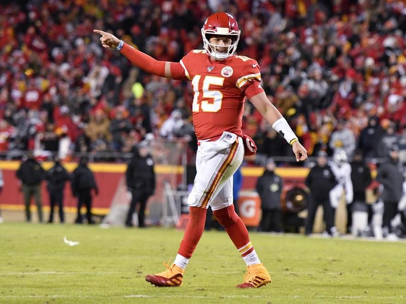 Patrick Mahomes, the Chiefs' franchise player