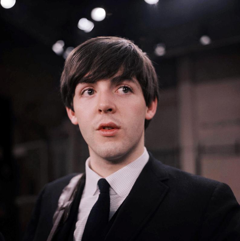 Paul McCartney on The Ed Sullivan Show in 1964
