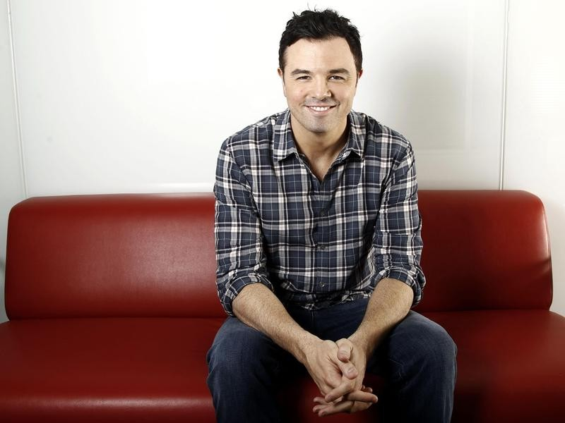Seth MacFarlane poses for portrait