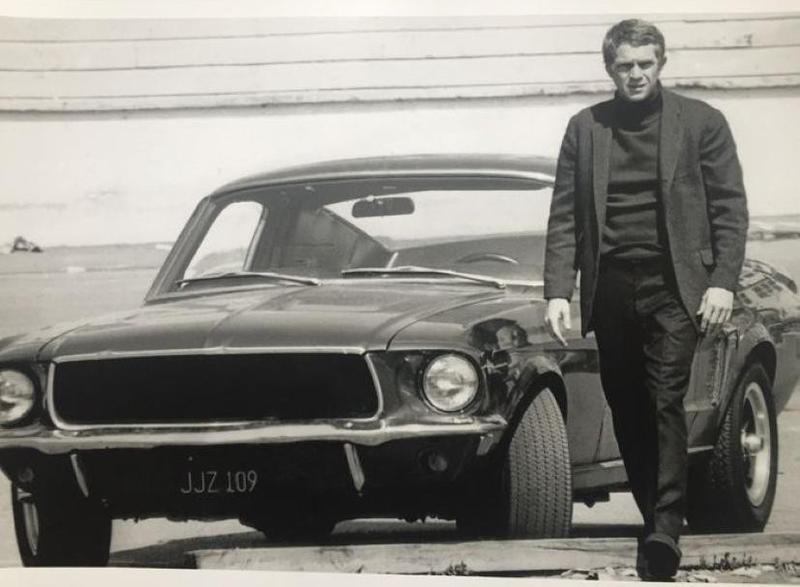 1968 Ford Mustang GT from 'Bullitt'