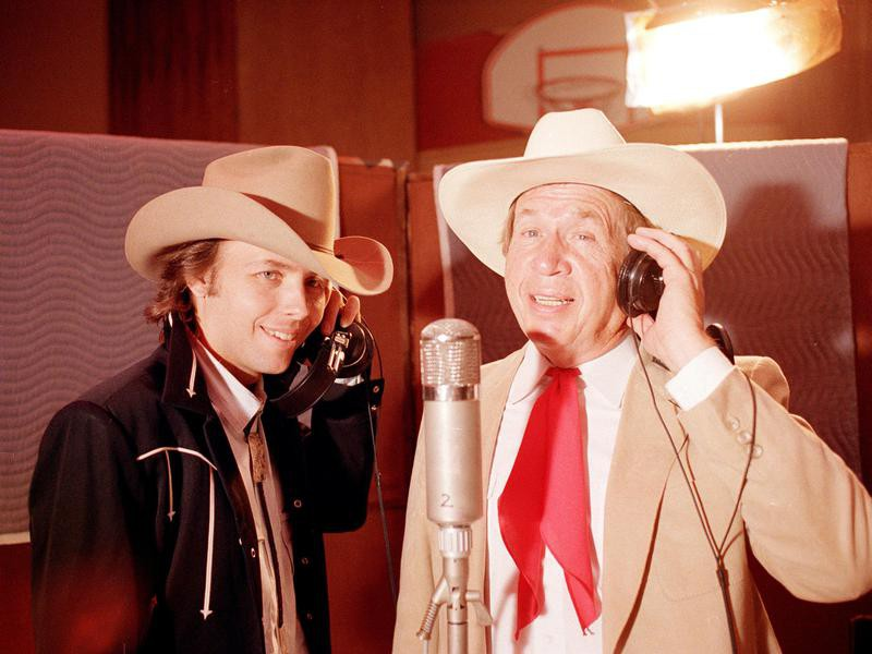 Dwight Yoakam and Buck Owens