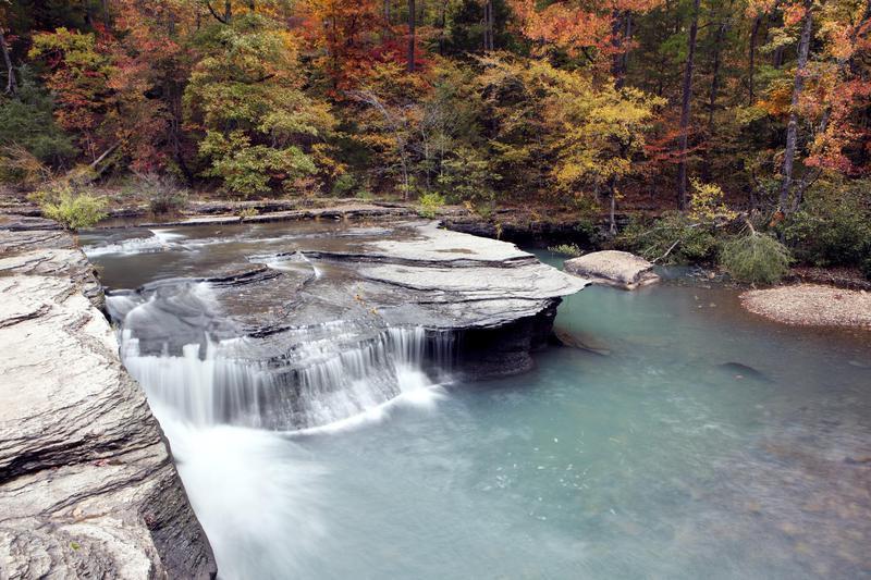 Haw Creek Waterfall arkansas