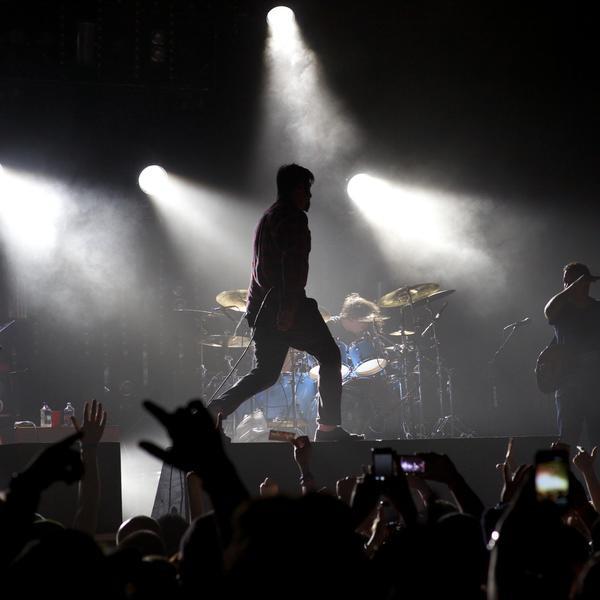 Deftones perform at House of Blues located inside Mandalay Bay, Las Vegas on Sunday, November 18, 2012 in Las Vegas. (Photo by Carlos Larios/Invision/AP)
