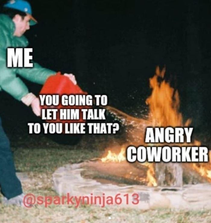 Workplace meme