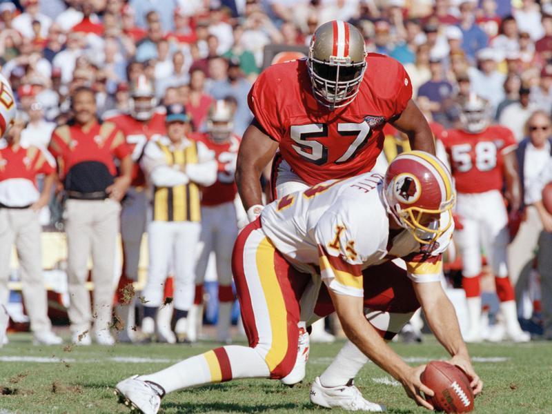 San Francisco 49ers linebacker Rickey Jackson