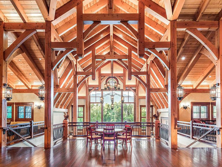 Lavish wooden home