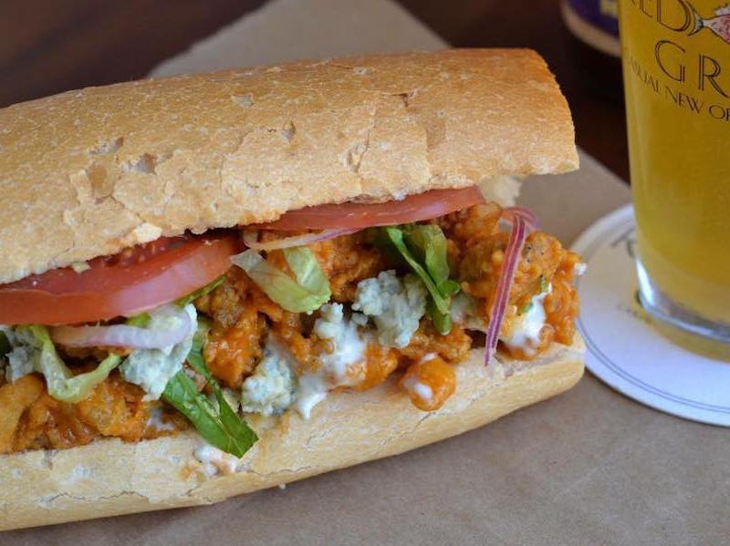 po'boy sandwich