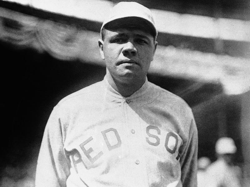 Babe Ruth in 1919