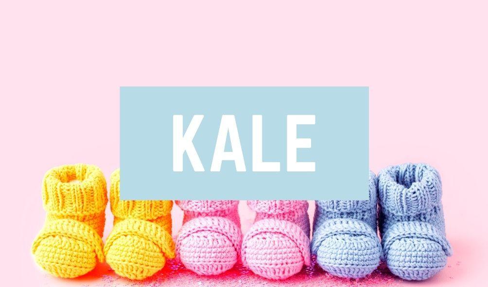 Worst Baby Names: Kale