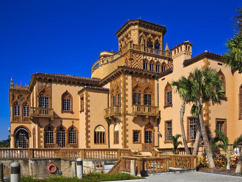 Ringling Museum Mansion in Sarasota, Florida